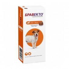 Bravecto (Бравекто) таблетки д/соб. (4.5 - 10 кг) від бліх і кліщів фото