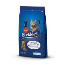 Brekkies Exel Complet Adult Cat для дорослих котів з куркою, тунцем і овочами фото
