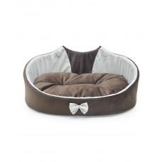 """Лори Лежак """"Cat"""" для котов и маленьких пород собак, коричневый фото"""