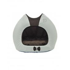 """Лори  Будка """"Cat"""" для котов и маленьких пород собак, коричневая фото"""