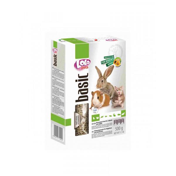 Lolo Pets Полнорационный гранулированный корм для грызунов  фото