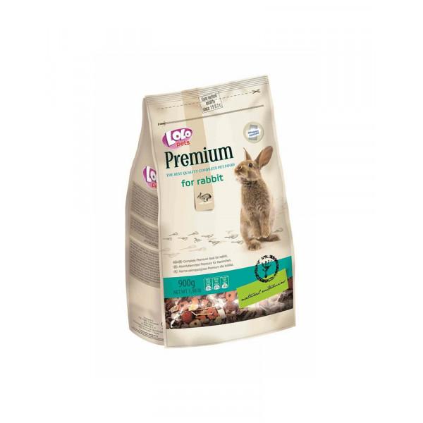 Lolo Pets Premium Повнораціонний корм для кролика фото