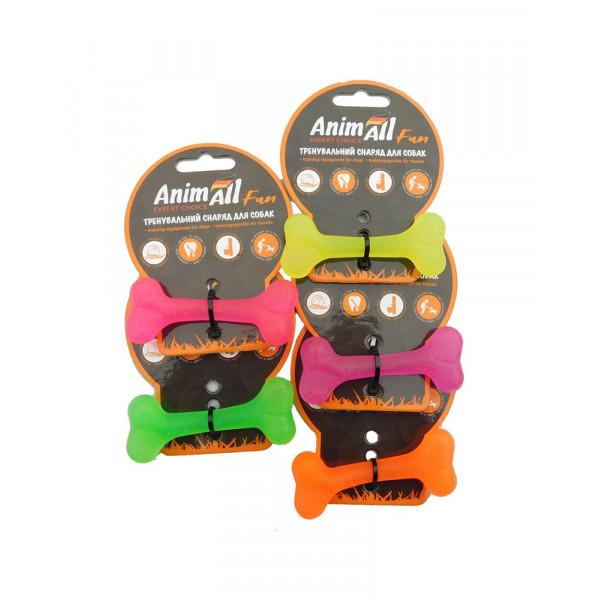 AnimAll Игрушка для собак Fun кость, 8 см фото