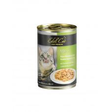 Edel Cat Ніжні шматочки в соусі з індичкою і печінкою фото