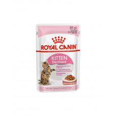 Royal Canin Kitten Sterilised (в соусі) фото