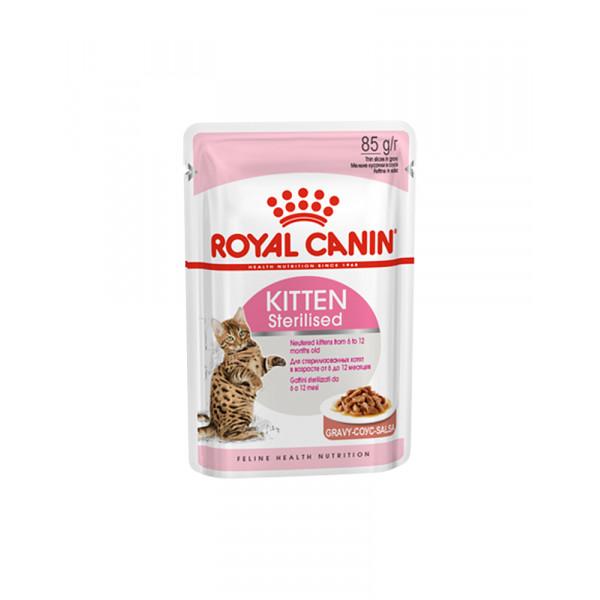 Royal Canin Kitten Sterilised (в соусе) фото