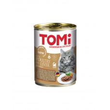 TOMi poultry liver ПТИЦЯ Печінку консерви для котів фото