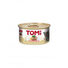 TOMi For Kitten with Chicken Консерва для кошенят з куркою, мус фото