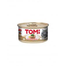 TOMi Chicken Консерва для дорослих котів з куркою, мус фото