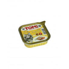 TOMi poultry liver Паштет для дорослих кішок з птицею і печінкою, 100 г. фото