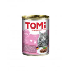 TOMi veal консерва для котів з телятиною фото