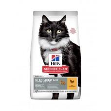Hill's Science Plan Mature Adult 7 + Sterilised Cat корм для кішок з куркою фото
