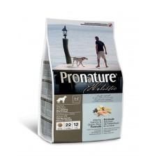 Pronature Holistic Adult Atlantic Salmon&Brown Rice с атлантическим лососем и коричневым рисом для собак всех пород фото