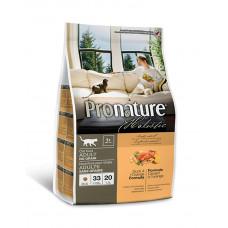 Pronature Holistic (Пронатюр Холистик)  с уткой и апельсинами  без злаков для котов фото