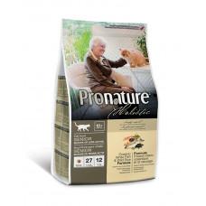 Pronature Holistic (Пронатюр Холистик) с океанической белой рыбой и диким рисом  для пожилых котов фото