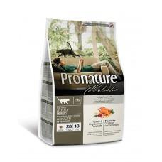 Pronature Holistic (Пронатюр Холистик)  с индейкой и клюквой для котов фото