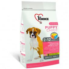 1st Choice Puppy Sensitive Skin & Coat All Breeds фото