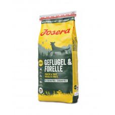 Josera Geflügel & Forelle беззерновой корм для собак з птицею і фореллю фото
