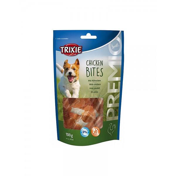 Trixie Premio Chicken Bites ласощі для собак з курячим філе фото