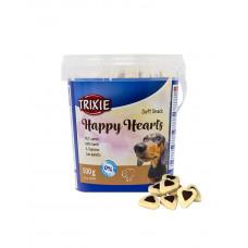 Trixie Happy Hearts - лакомства для собак( ведро 500г.) фото
