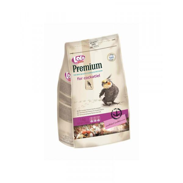 Lolo Pets Premium Полнорационный корм для нимфы и средних попугаев фото