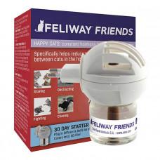 Ceva Feliway Friends диффузор + сменный блок, для коррекции поведеня кошек при групповом содержании фото