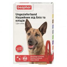 Beaphar Ошейник от блох и клещей для собак красный фото