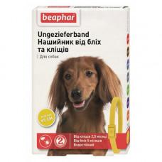 Beaphar Ошейник от блох и клещей для собак желтый фото