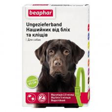 Beaphar Ошейник от блох и клещей для собак зеленый фото