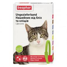 Beaphar Ошейник от блох и клещей для кошек зеленый фото
