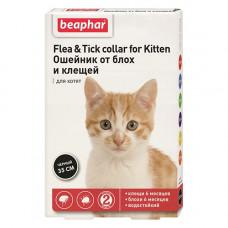 Beaphar Flea and Tick - ошейник от блох и клещей Бифар для котят фото