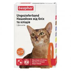 Beaphar Ошейник от блох и клещей для кошек оранжевый фото