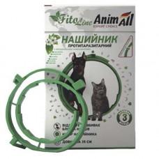 AnimAll FitoLine Nature ошейник для кошек и собак зеленый фото