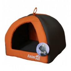AnimALL Wendy M Лежак-будиночок для собак та кішок помаранчевий фото