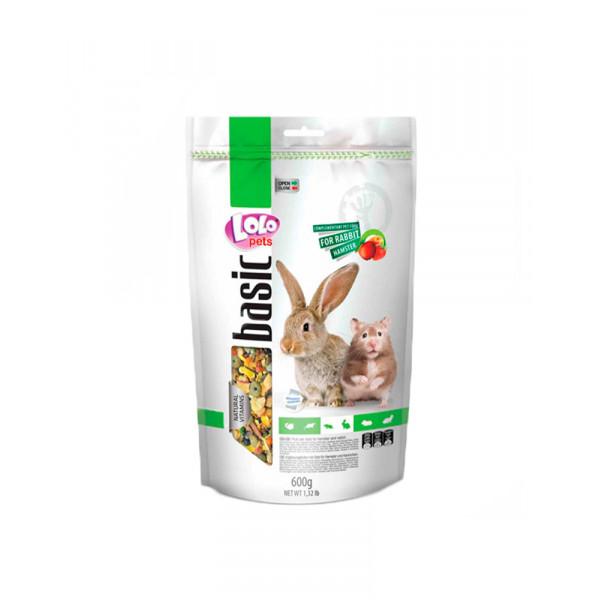 Lolo Pets Doypack Фруктовий корм для хом'яка і кролика фото