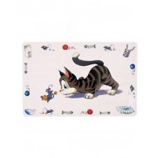 Trixie «Comic Cat» килимок під миски фото