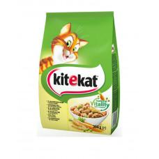 Kitekat Для взрослых кошек курица с овощами фото