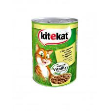 Kitekat Для котов с курицей в соусе 400гр фото