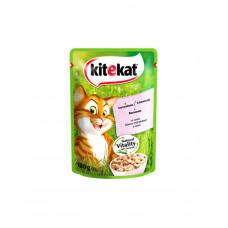 Kitekat Для котов с лососем в соусе фото