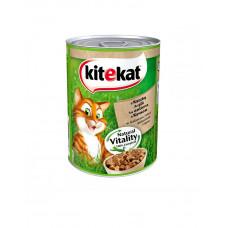 Kitekat Для котов с уткой в желе 400 гр фото