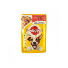 Pedigree Vital Protection з яловичиною в желе фото