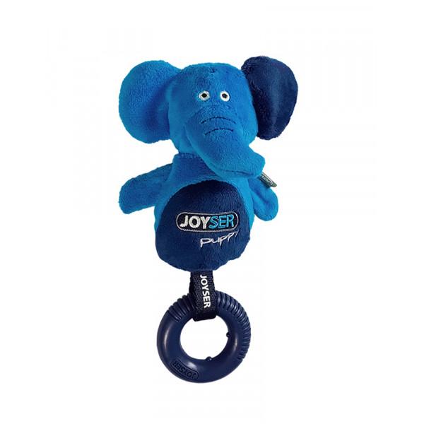 Joyser Puppy Elephant with Ring ДЖОЙСЕР СЛОН З КІЛЬЦЕМ м'яка іграшка для цуценят фото