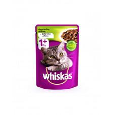 Whiskas С ягненком в желе для взрослых кошек фото