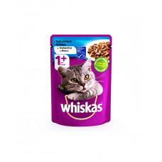 Whiskas С тунцом в желе для взрослых кошек фото