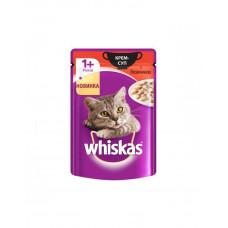 Whiskas Влажный корм для котов крем-суп с говядиной фото