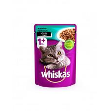Whiskas С кроликом в соусе для взрослых кошек фото