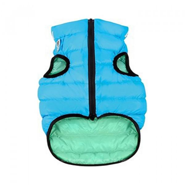 AiryVest Lumi двусторонняя, светящаяся курточка для собак, размер L65 фото