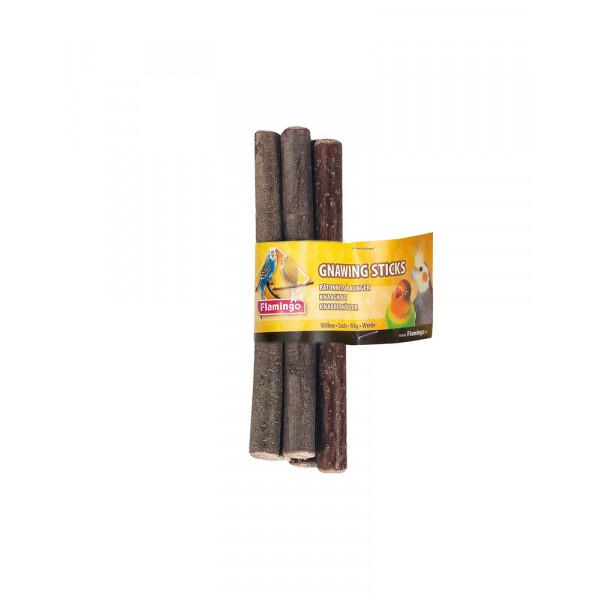 Flamingo parrot willow sticks Палочки деревянные для попугаев фото