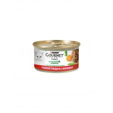 Gourmet Gold Натуральні рецепти тушкована яловичина з морквою фото