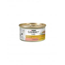 Gourmet Gold кусочки в соусе лосось и цыпленок фото